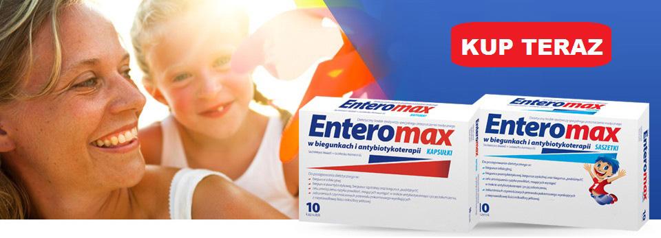 Biegunka u dziecka - Enteromax